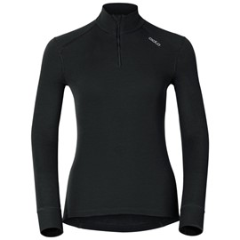 ODLO T-SHIRT MANICA LUNGA 1/2 ZIP WARM DONNA