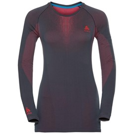 ODLO T-SHIRT MANICA LUNGA WARM PERFORMANCE DONNA