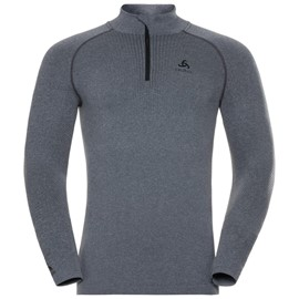 ODLO T-SHIRT MANICA LUNGA 1/2 ZIP PERFORMANCE WARM