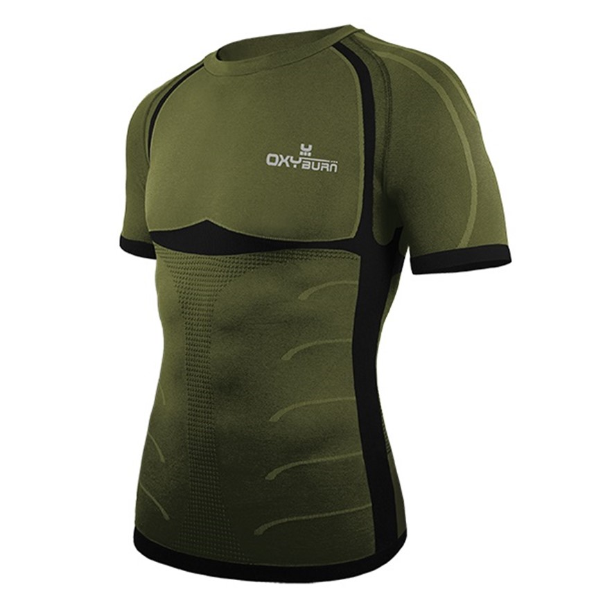 OXYBURN T-SHIRT FORTY TWO MANICA CORTA