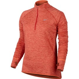 NIKE ELEMENT SPHERE FELPA 1/2 ZIP DONNA
