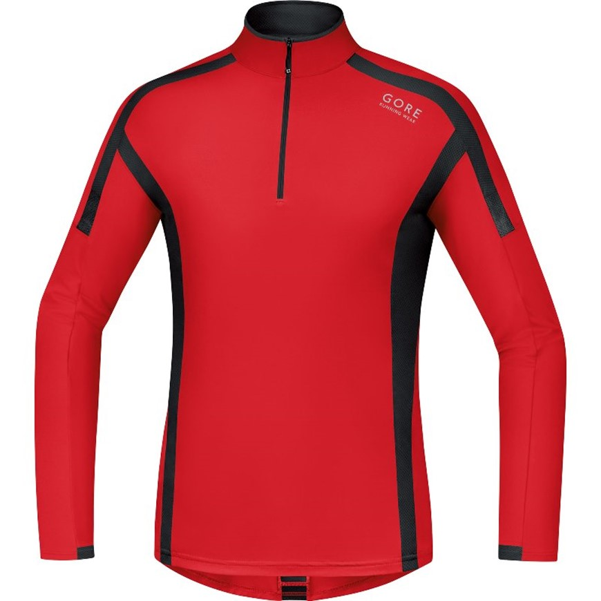 GORE AIR ZIP SHIRT MANICA LUNGA
